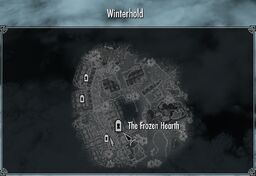 Winterhold the frozen hearth
