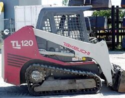 Takeuchi TL120 skid-steer w tracks - 2008