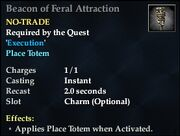Beacon of Feral Attraction