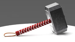 Mjolnir the Mighty Hammer of Thor