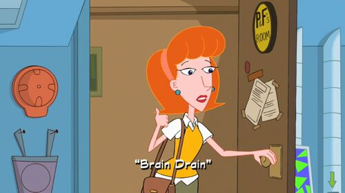 Brain Drain Phineas And Ferb Wiki Your Guide To