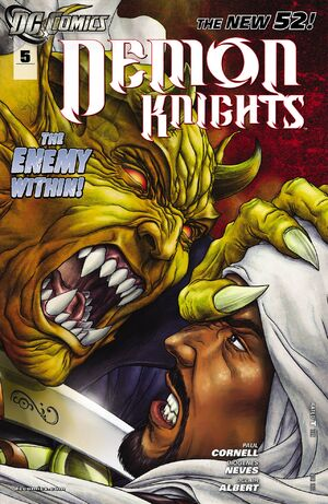 Cover for Demon Knights #5