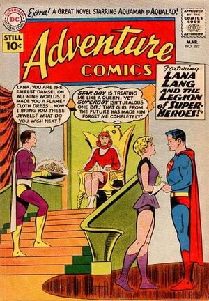 Cover for Adventure Comics #282