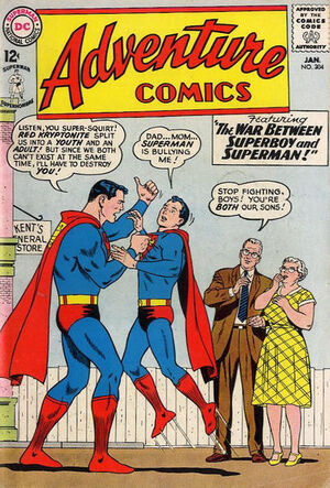 Cover for Adventure Comics #304