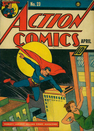 Cover for Action Comics #23
