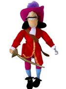Captain Hook with sword plush