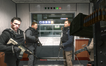 MW2 No Russian Elevator