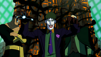Joker the puppeteer