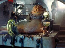 Jabba&#39;s dais
