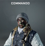 Commando Face Paint BO