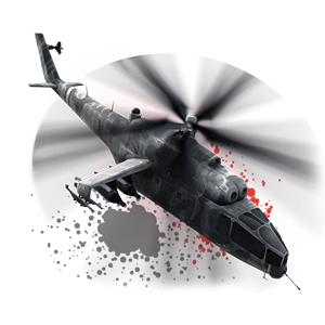 Gunship HUD icon BO