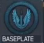 Baseplate insignia