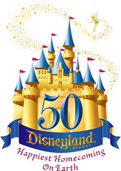 Disneyland-50th-logo