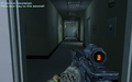 Hallway past TV station entrance Charlie Don't Surf CoD4.png