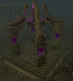 Wilderness obelisk