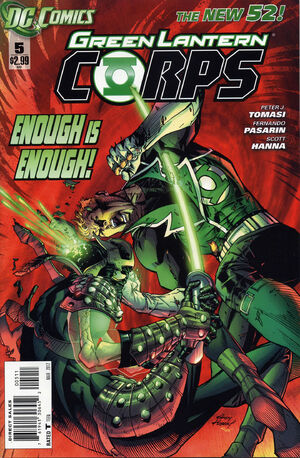 Cover for Green Lantern Corps #5