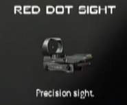 Red Dot Sight MW3 CreateAClass