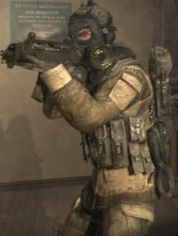 Call of duty gas mask