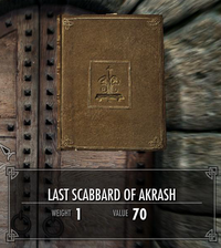 Last scabbard