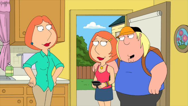 Lois Griffin And Chris