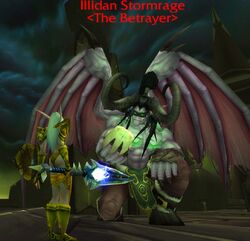 Persis Faces Illidan