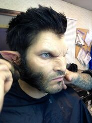 Derek Season Two makeup