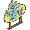 Bare Crystal Tree Mastery Sign-icon