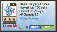 Bare Crystal Tree Market Info