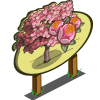 Pink Plum Tree Mastery Sign-icon