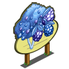 Giant Frozen Gem Fruit Tree Mastery Sign-icon