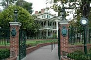The Haunted Mansion for my Disneyland
