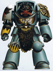 Space Wolves Terminator