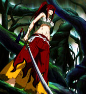 Erza's new strength