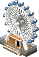 London Ferris Wheel-SW