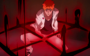 Ichigo activates Fullbring