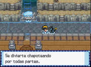 HGSS.luxray en el agua