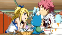 830px-Lucy treating Natsu and Happy to dinner