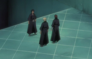 Izuru and Kifune arrive at the execution ground