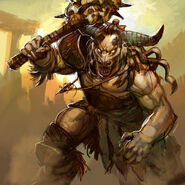 Karn The Minotaur Boss