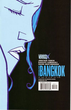 Cover for Vertigo Pop!: Bangkok #3