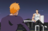 Ichigo talks with Ginjo