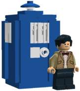 11th Doctor and Tardis