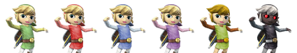Distintos Toon Link SSBB
