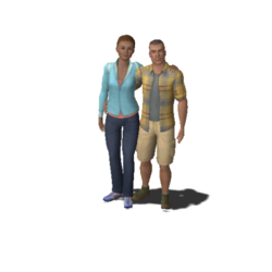 Keaton Family (The Sims 3)