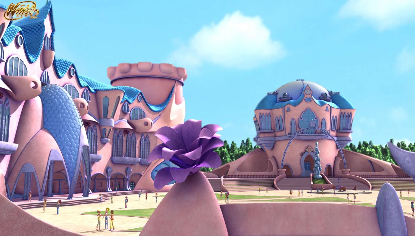 Winx Club & W.I.T.C.H.= TOTAL POWER Alfea3D