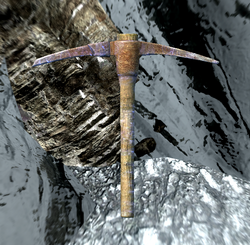 TESV Notched Pickaxe Crop