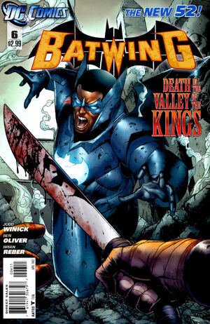Cover for Batwing #6