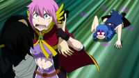 Juvia chasing Meredy