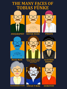 Many Faces of Tobias Funke