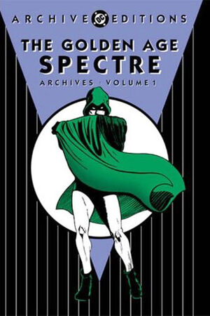 Cover for Golden Age Spectre Archives #1